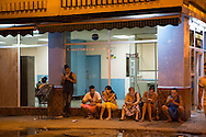 Just look for the tell-tale sign - crowds of people huddled around their devices at any hour of the day. Wifi has only recently become available to the public in Cuba. Not quite available in homes yet so everyone gathers in the local squares where you can buy one-hour access cards.