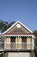 The Carriage and Stable rooms at The Hermitage Plantation Inn, Nevis 4/05 - the Loft