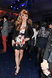 JODIE HARSH at the Warner Music Group Post Brit Awards Party in Association with Samsung held at The Savoy, London on 20th February 2013.
