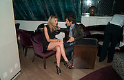 KIM HERSOV; BARRY REIGATE, Polly Morgan 30th birthday. The Ivy Club. London. 20 January 2010