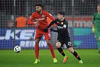 v.l. Michael Hector, Kai Havertz (Leverkusen)<br /> Leverkusen, 11.02.2017, Fussball Bundesliga, Bayer 04 Leverkusen - Eintracht Frankfurt 3:0<br /> <br /> Norway only
