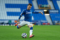 Football - 2020 / 2021 Premier League - Everton vs Sheffield United - Goodison Park<br /> <br /> Everton's Bernard in action during todays match  <br /> <br /> <br /> <br /> COLORSPORT/TERRY DONNELLY