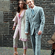 Huwelijk Patrick Kluivert en Angela van Hulten Amsterdam, Tim Immers en Georgina Verbaan
