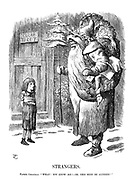 """Strangers. Father Christmas. """"What! Not know me! - Oh, this must be altered!"""""""