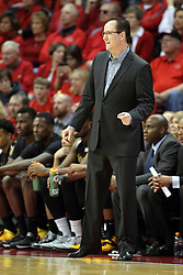 14 February 2015:   Gregg Marshall during an NCAA MVC (Missouri Valley Conference) men's basketball game between the Wichita State Shockers and the Illinois State Redbirds at Redbird Arena in Normal Illinois