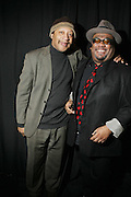 l to r: Ricky Gordon and Stew at The ImageNation celebration for the 20th Anniversary of ' Do the Right Thing' held Lincoln Center Walter Reade Theater on February 26, 2009 in New York City. ..Founded in 1997 by Moikgantsi Kgama, who shares executive duties with her husband, Event Producer Gregory Gates, ImageNation distinguishes itself by screening works that highlight and empower people from the African Diaspora.