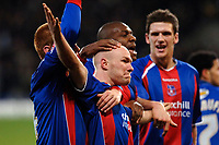 Photo: Daniel Hambury.<br />Crystal Palace v Reading. Coca Cola Championship.<br />20/01/2006.<br />Palace's Andrew Johnson celebrates his goal.