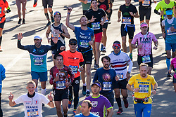04-11-2018 USA: 2018 TCS NYC Marathon, New York<br /> Race day  TCS New York City Marathon / Robert Jan