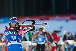 Ekaterina Yurlova-Percht (RUS) during the Women 15 km Individual Competition at day 2 of IBU Biathlon World Cup 2019/20 Pokljuka, on January 23, 2020 in Rudno polje, Pokljuka, Pokljuka, Slovenia. Photo by Peter Podobnik / Sportida