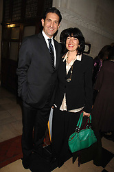 JAMES RUBIN and CHRISTIANE AMANPOUR at the 2nd Fortune Forum Summit and Gala Dinner held at the Royal Courts of Justice, The Strand, London on 30th November 2007.<br /><br />NON EXCLUSIVE - WORLD RIGHTS
