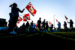 Bristol City Women walk out - Rogan/JMP - 18/04/2018 - FOOTBALL - Stoke Gifford Stadium - Bristol, England - Bristol City Women v Liverpool Ladies - FA WSL 1.
