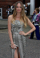 Alicia Rountree, London Fashion Week SS17 - Julien Macdonald, Seymour Leisure Centre, London UK, 17 September 2016, Photo by Brett D. Cove