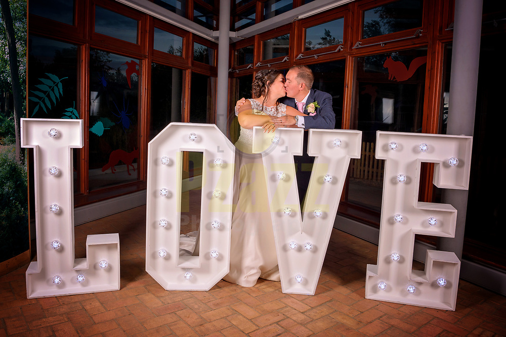 Wedding photography at the Forest of Marston Vale