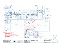 Key Plan 1 of 4: Central High School Bridgeport CT Expansion & Renovate as New. State of CT Project # 015-0174 Progress Submission 34 - 06 December 2017