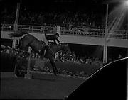 "04/08/1960<br /> 08/04/1960<br /> 04 August 1960<br /> R.D.S Horse Show Dublin (Thursday). Miss Iris Kellett on ""Short Lessons"" 2nd in Competition G (Sweepstake) on Thursday."