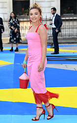 Florence Pugh attending the Royal Academy of Arts Summer Exhibition Party, held at Burlington House in London. Photo credit should read: Doug Peters/EMPICS