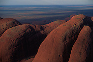 Rock Formations on Plains