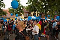 DEU, Deutschland, Germany, Königs Wusterhausen, 30.08.2019: AfD-Parteianhänger bei einer Wahlkampfveranstaltung der Partei Alternative für Deutschland (AfD).