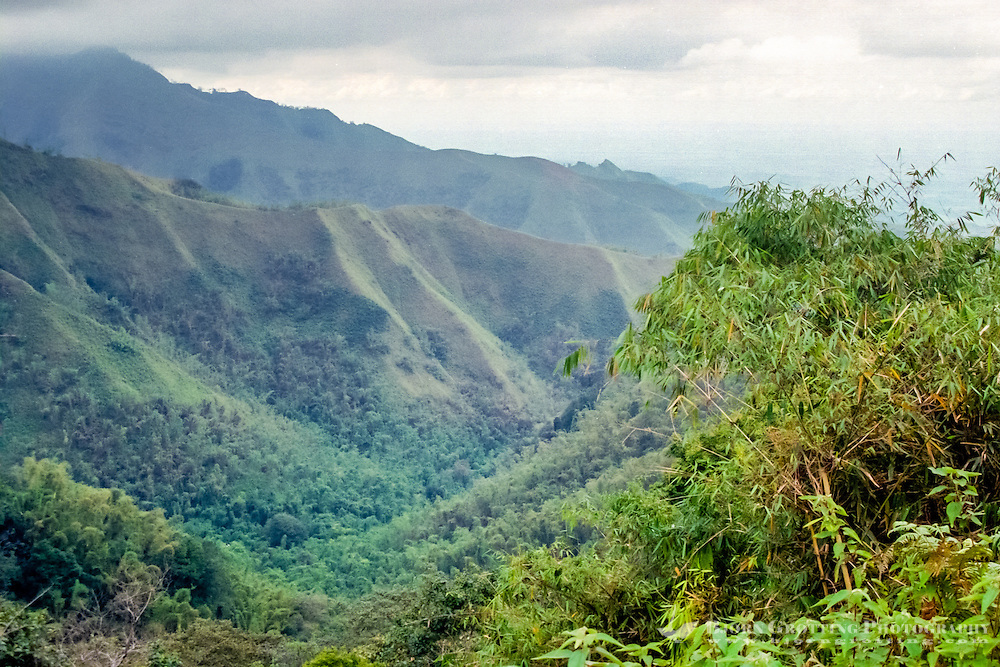 Java, East Java, Batu. The road from Batu to Kediri passes through some fascinating hilly landscape.