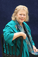 Renowned British historian and writer - and wife of Harold Pinter  - Lady Antonia Fraser pictured at the Edinburgh International Book Festival where she talked about her work. The Book Festival was the World's largest literary event and featured writers from around the world. The 2006 event featured around 550 writers and ran from 13-28 August.