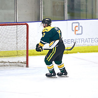 3rd year forward, Tristan Frei (13) of the Regina Cougars during the Men's Hockey Home Game on Sat Jan 19 at Co-operators Center. Credit: Arthur Ward/Arthur Images