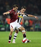 """Torino 29/9/2007 Stadio """"Olimpico""""<br /> Campionato Italiano Serie A<br /> Matchday 6 - Torino-Juventus (0-1)<br /> Nicola Ventola (Torino) Nicola Legrottaglie (Juventus)<br /> Photo Luca Pagliaricci INSIDE"""
