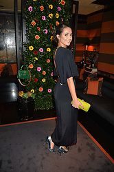 ROXIE NAFOUSI at a private dinner for designer Ethan K held at Blakes Hotel, 33 Roland Gardens, London on 26th October 2016.