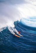 Waimea Bay, Surfing, North Shore, Oahu, Hawaii, Editoial use only no model release