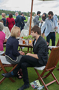 VANESSA KIRBY; DOUGLAS BOOTH; , Cartier Queen's Cup. Guards Polo Club, Windsor Great Park. 17 June 2012