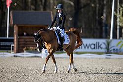 Hermans Angelina, BEL, Djamila 36<br /> CDI 3* Opglabeek<br /> © Hippo Foto - Dirk Caremans<br />  24/04/2021