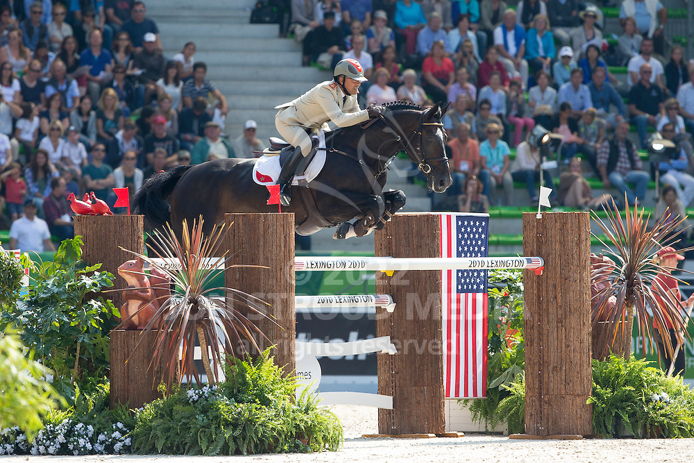 Hassan Jabri, (MAR), Loxy De La Reselle CH - First Round Team Competition Jumping Speed - Alltech FEI World Equestrian Games™ 2014 - Normandy, France.<br /> © Hippo Foto Team - Leanjo De Koster<br /> 03-09-14