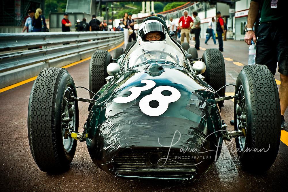 Grand Prix de Monte Carlo Historic 2012, JBW Maserati 1959, Marshall Bailey