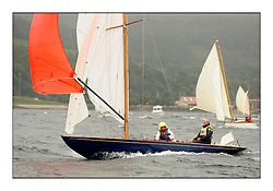 Day two of the Fife Regatta,Passage race to Rothesay.<br /> Coralie, Ewan McEwan, GBR, Bermudan Sloop, Wm Fife 3rd, 1928<br /> <br /> * The William Fife designed Yachts return to the birthplace of these historic yachts, the Scotland's pre-eminent yacht designer and builder for the 4th Fife Regatta on the Clyde 28th June–5th July 2013<br /> <br /> More information is available on the website: www.fiferegatta.com