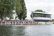 Henley Royal Regatta, Henley on Thames, Oxfordshire, 3-7 July 2013.  Thursday  15:42:01   04/07/2013  [Mandatory Credit/Intersport Images]<br /> <br /> Rowing, Henley Reach, Henley Royal Regatta.<br /> <br /> The Princess Elizabeth Challenge Cup<br /> Abingdon School