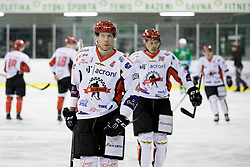 Andrej Tavzelj of HDD SIJ Acroni Jesenice during ice hockey match between HK SZ Olimpija and HDD SIJ Acroni Jesenice in AHL - Alps Hockey League 2017/18, on October 25, 2017 in Hala Tivoli, Ljubljana, Slovenia. Photo by Matic Klansek Velej / Sportida