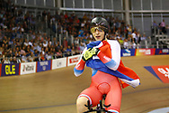 Women 500 mt Time trial, Daria Shmeleva (Russian Federation) gold medal, during the Track Cycling European Championships Glasgow 2018, at Sir Chris Hoy Velodrome, in Glasgow, Great Britain, Day 5, on August 6, 2018 - Photo luca Bettini / BettiniPhoto / ProSportsImages / DPPI<br /> - Restriction / Netherlands out, Belgium out, Spain out, Italy out -
