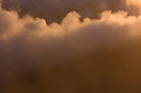 Clouds rising from a valley at sunset. Western Tatras, Slovakia. June 2009. Mission: Ticha