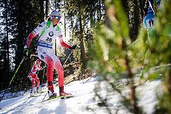 Monika Hojnisz (POL) during Women 12.5 km Mass Start at day 4 of IBU Biathlon World Cup 2015/16 Pokljuka, on December 20, 2015 in Rudno polje, Pokljuka, Slovenia. Photo by Ziga Zupan / Sportida