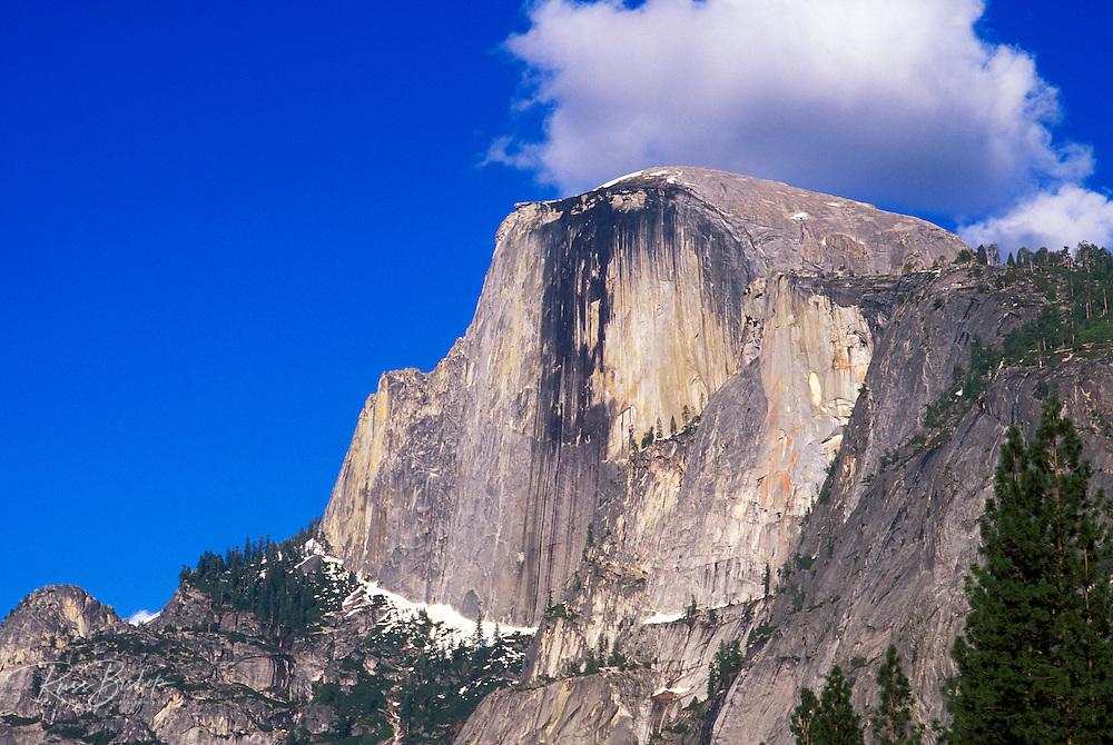Afternoon light on Half Dome, Yosemite Valley, Yosemite National Park (World Heritage Site), California
