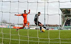 Falkirk 6 v 1 Dundee United, Scottish Championship game played 6/1/2018 played at The Falkirk Stadium.
