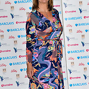Jane Luca attends Women of the Year Lunch and Awards at Intercontinental Hotel Park Lane, London, UK. 15 October 2018.