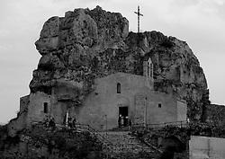 Matera, Basilicata, Italy - The curch of Madonna de Idris