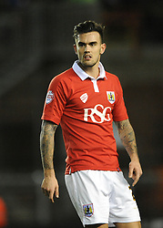 Bristol City's Marlon Pack - Photo mandatory by-line: Dougie Allward/JMP - Mobile: 07966 386802 - 29/01/2015 - SPORT - Football - Bristol - Ashton Gate - Bristol City v Gillingham - Johnstone Paint Trophy