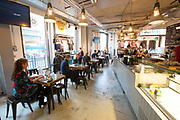 Rapha cycle club cafe and shop on 2nd November 2015 in London, United Kingdom.