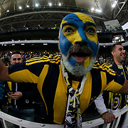 Fenerbahce's  during their Turkish super league soccer derby Fenerbahce between Galatasaray at the Sukru Saracaoglu stadium in Istanbul Turkey on Sunday 25 October 2015. Photo by Kurtulus YILMAZ/TURKPIX