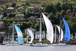 The Silvers Marine Scottish Series 2014, organised by the  Clyde Cruising Club,  celebrates it's 40th anniversary.<br /> Day 1<br /> Class 1 with GBR1429L, Warrior, Ross Fullarton, FYC/CBSC, A40RC<br /> <br /> Racing on Loch Fyne from 23rd-26th May 2014<br /> <br /> Credit : Marc Turner / PFM
