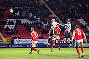 {persons}, C5	Charlton Athletic defender Patrick Bauer (5), C8	Charlton Athletic midfielder Andrew Crofts (8), M17	Millwall defender Byron Webster (17)  during the EFL Sky Bet League 1 match between Charlton Athletic and Millwall at The Valley, London, England on 14 January 2017. Photo by Sebastian Frej.