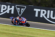 25th October 2019; Phillip Island Grand Prix Circuit, Phillip Island, Victoria, Australia; Australian Moto GP, Practice day; The number 88 Red Bull KTM Tech 3 rider Miguel Oliveira during free practice 2 - Editorial Use