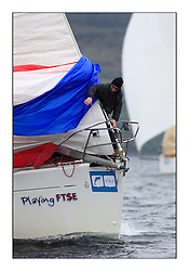Brewin Dolphin Scottish Series 2011, Tarbert Loch Fyne - Yachting - Day 1 of the 4 day series..GBR603R ,Playing FTSE ,Jonathan Anderson, CCC ,First 47.7.