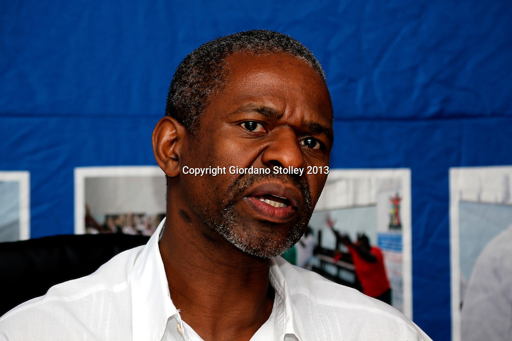 DURBAN - 14 February 2013 - KwaZulu-Natal's health MEC Dr Sibongiseni Maxwell Dhlomo refutes claims that mortuary workers have downed tools at the province's main Gale Street Mortuary in Durban. Picture: Giordano Stolley/Allied Picture Press/APP
